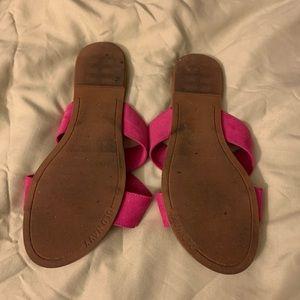 Old Navy Shoes - Pink slide sandals